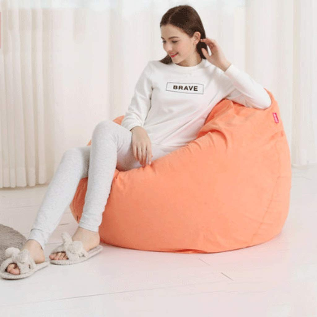 8 Lazy Couch Bean Bag Tatami Single Bedroom Living Room Small Sofa Chair Removable and Washable (color   6)