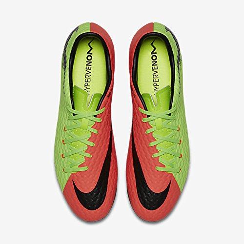 7edc85bd421 Botas Nike Hypervenom Phelon III Suela Fg Verde Naranja 60% de descuento
