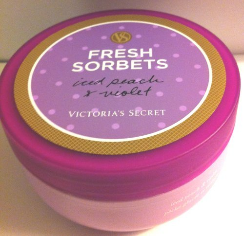 Fresh Sorbets Iced Peach & Violet Whipped Body Souffle 6.5 Oz for Victoria's Secret