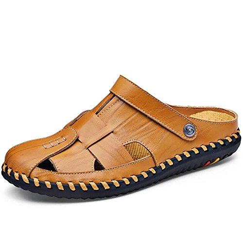 Nuevas De Hombres Sandalias De Y Los Brown Zapatillas Zapatos Al Zapatos Marea Desgaste Salvaje 40 Sandalias Al Playa De Dos Verano De Casuales Hombres Libre Desgaste Zapatos Los Resistentes Aire De qxHXxwY1