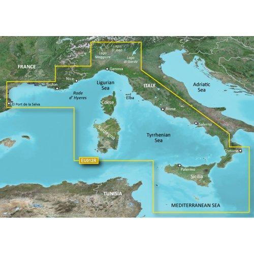 Garmin Bluechart G2 Hxeu012R Italy West Coast Microsd & by Garmin