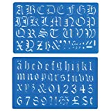 Helix - Old English Lettering Stencil Template