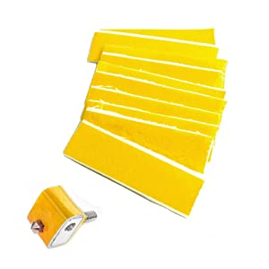 BronaGrand 10PCS 2mm Thick Heating Block Cotton for 3D Printer hotend Nozzle Heat Insulation