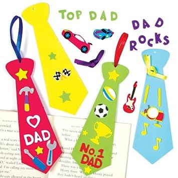 Lesezeichen Bastelsets Krawatte Aus Moosgummi Für Kinder