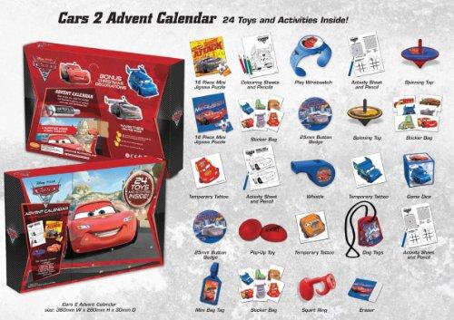 Cars Weihnachtskalender.Universal Trends Tpf26012 Cars Ii Adventskalender