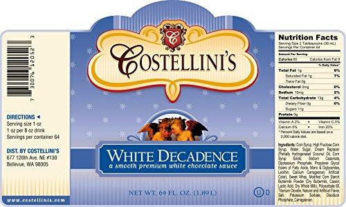 UPC 730076120523, White Decadence - White Chocolate Sauce