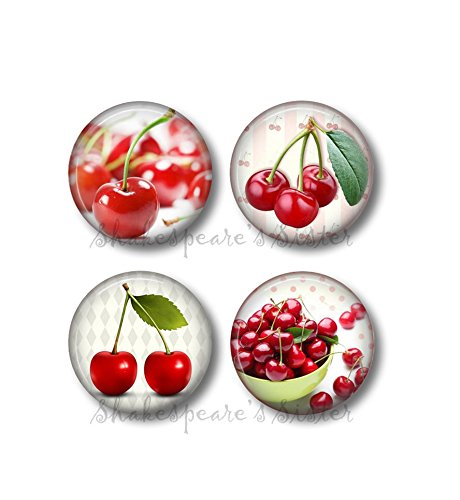 Red Cherry Fridge Magnets