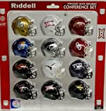 Ncaa Pocket Pro Helmets, BIG XII Conference Set, (2016) NEW
