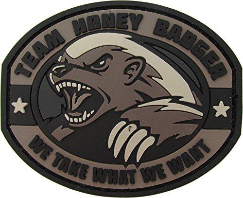 - MIL-SPEC Honey Badger PVC Patch SWAT