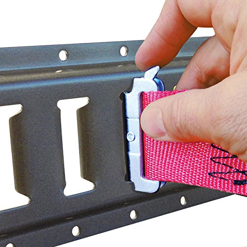 SNAPLOCS E-STRAP 2''x8' CAM (USA!) with Hook & Loop storage fastener by Snap-Loc (Image #4)