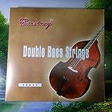4/4,3/4,1/2,1/4,1/8 Double Upright Bass Strings Full Set (3/4)