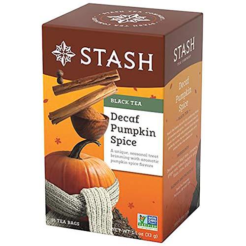 - Decaffeinated Tea-Pumpkin Spice - 18 - Bag