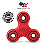 Fidget Toy | Focus Toys | Fidget Spinner | Fidget Toys for ADHD | Adults, Kids, Unisex | Red, New 2017