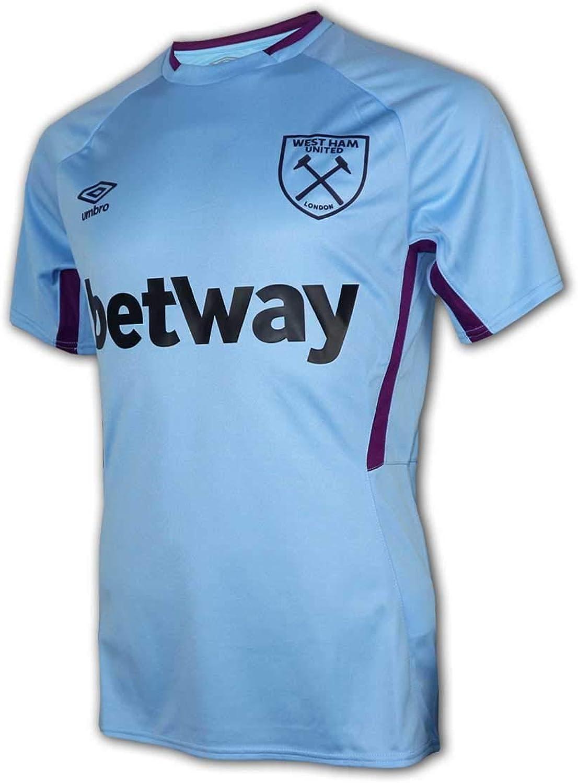 UMBRO Camiseta de fútbol West Ham 2019-2020 (Vista Blue)