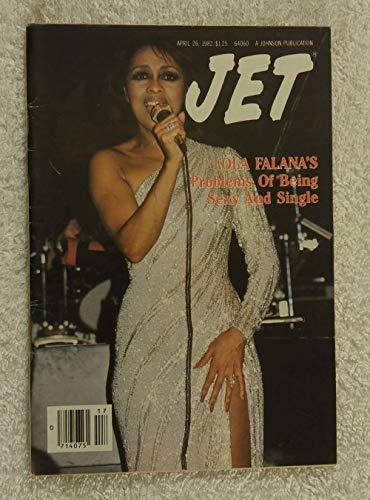 - Lola Falana's Problems of Being Sexy & Single - Jet Magazine - April 26, 1982