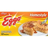 Eggo, Waffles, Homestyle, 12.3 oz (Frozen)
