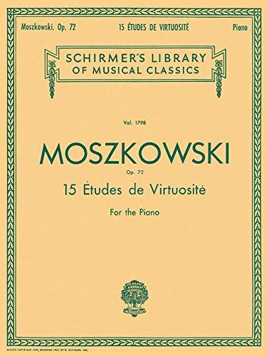 15 Etudes Virtuositie Op. 72  For Piano   Lb1798   Sammelband Für Klavier
