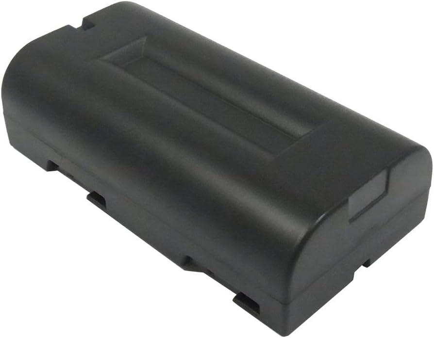Color : Black, Size : 71.70 x 37.60 x 20.40mm Battery Camera 2000mAh//14.80Wh 7.4V Camera Battery for NVP-D6 UR-121 UR-121D iDshot IDC-1000 iDshot IDC-1000Z iDshot IDC-1000ZU Photo Battery