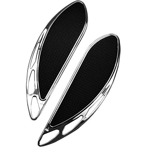 カールブロウハード Carl Brouhard Designs ドライバーフットボード ベロシティ クローム 1621-0738 FB-0003-C   B01M0ZYOXO