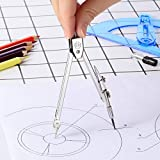 Student Geometry Math Set, Drawing Compass and 6