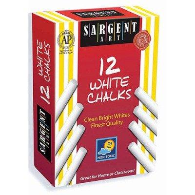 SCBSAR662012-57 - SARGENT SCHOOL GR DUSTLESS CHALK pack of 57