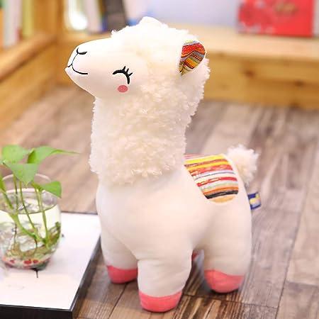 25 cm Alpaca Llama felpa sonrisa rayas animales juguete de ...