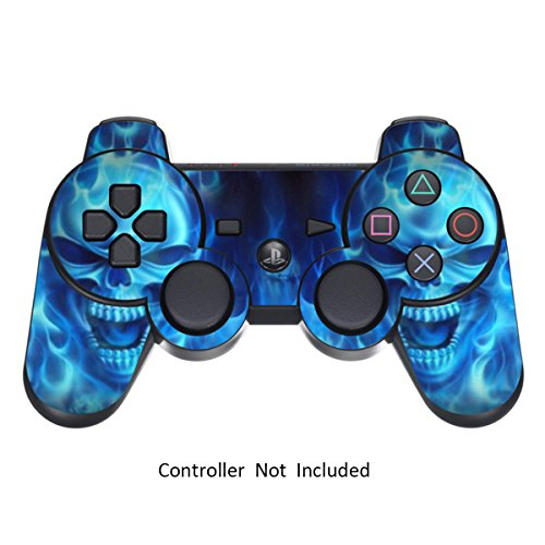 Skin Stickers for Playstation 3 Controller – Vinyl Sticker for DualShock 3 Wireless Game PS3 Controllers – Protectors…