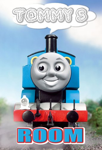 Poster Boy's Cool TRAIN Personalized 13x19 With Your Name!