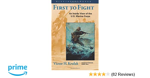 first to fight summary victor h krulak