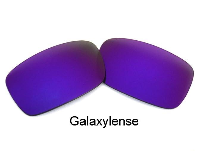 1fd5c14933 Amazon.com  Galaxy Replacement Lenses For Oakley Crankcase Polarized  Purple