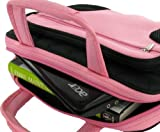 rooCASE Netbook, iPad Carrying Case Deluxe Bag for 10,11.6 Inches - Pink / Black