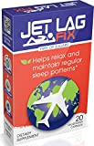 Jet Lag Fix Jet Lag Relief Pills -Natural Sleep Remedies for Jet Setters & Time Zone Travelers -Melatonin Free Essential Travel Accessory