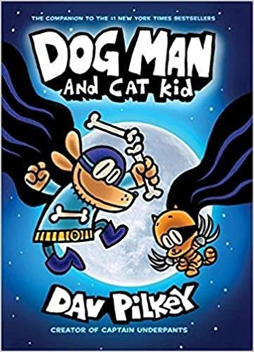 Image result for dog man and the cat kid