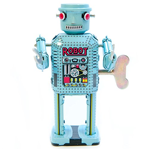 vintage tin robot - 7