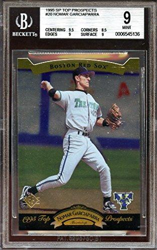 1995 sp top prospects #20 NOMAR GARCIAPARRA red sox rookie BGS 9 (Nomar Garciaparra Red Sox)