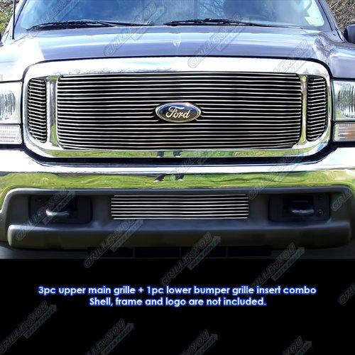 1999-2004 Ford F-250/F-350 Super Duty/Excursion Billet Grille Grill Combo Insert - Excursion Billet Grill