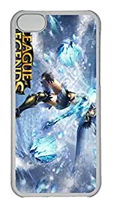 iphone 6 4.7 Case, iphone 6 4.7 Cases - Anti-Scratch Crystal Clear Hard Back Case for iphone 6 4.7 Ashe League Of Legends Shock-Absorption Hard Back Bumper Case for iphone 6 4.7