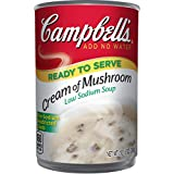 Campbell's Low Sodium Soup, Cream of Mushroom, 10.5 Ounce (12 Ct)