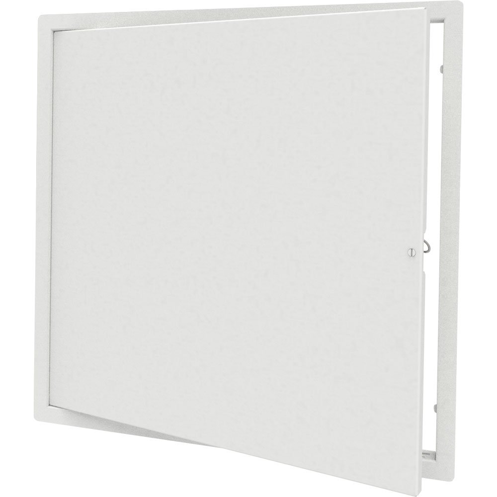 Babcock-Davis 24'' x 24'' Architectural Access Door, White, Flush Mount, Cam Latch