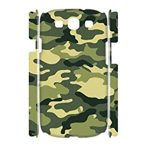 GGMMXO Camouflage Shell Phone Case For Samsung Galaxy S3 I9300 [Pattern-1]