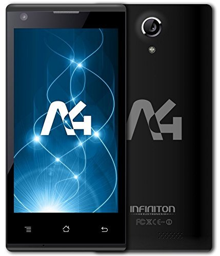 Infiniton-A4-Smartphone-de-45-WiFi-Bluetooth-Quad-Core-13-GHz-8-GB-Android-color-negro