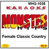 Monster Hits Karaoke #1038 - Female Classic Country