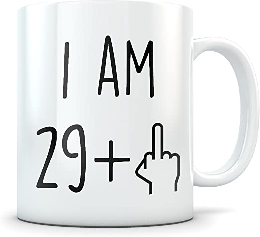 30th birthday present gift born 1989 mug idea men women ladies dad mum happy 30
