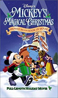 mickeys magical christmas snowed in at the house of mouse vhs - Mickeys Once Upon A Christmas Vhs