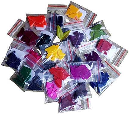 yahede Kaarskleur kleurstofkit 24 kleuren DIY kaarsenkleurchips kaars wax kleurstof 2g kaars kleurstof kaars kleur wax verf voor DIY kaarsen mooi