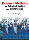 Research Methods for Criminal Justice and Criminology (3rd Edition) 9780131189287