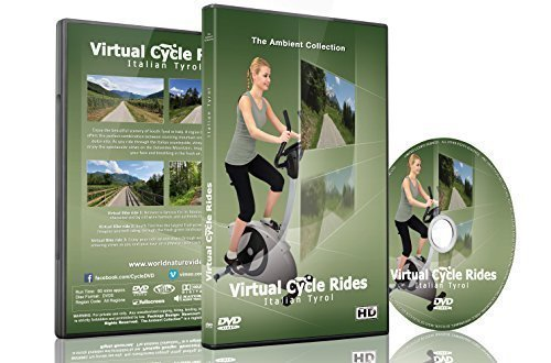 Price comparison product image Virtual Cycle Rides - Bike Through Italian Tyrol - For Indoor Cycling, Treadmill and Running Workouts by The Ambient Collection