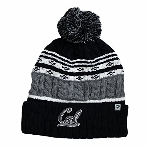 Top of the World Cal Bears Official NCAA Cuffed Knit Altitude Beanie Stocking Stretch Sock Hat Cap 809120