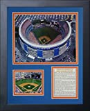 """Legends Never Die """"Shea Stadium"""" Framed Photo Collage, 11 x 14-Inch"""