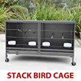 Mcage Extra Large Stackable Breeding Cage with